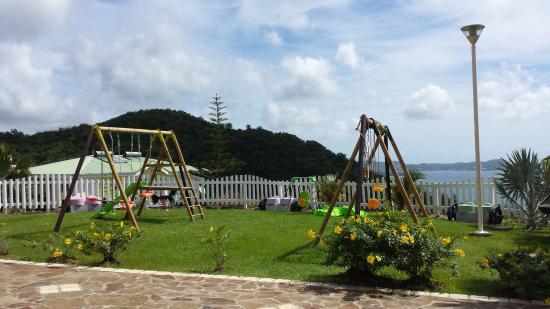 Residence Ilot Bleu: espace enfant