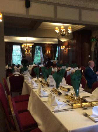 Rothley, UK: Christmas dining room