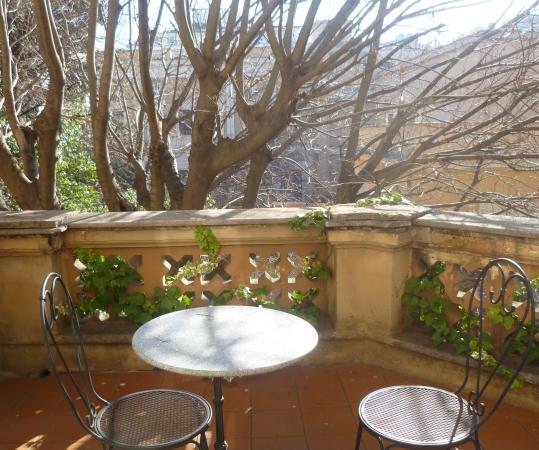 Villa Delle Rose Hotel: балкон