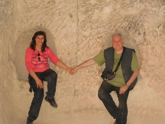 Pasabag: Dentro de una de las cuevas