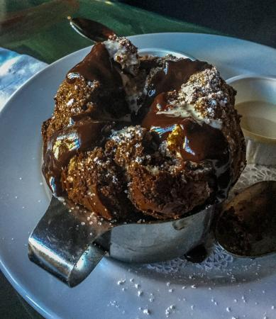 Double Chocolate Bread Pudding Soufflé - Picture of Ralph Brennan\'s ...
