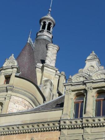 Hilterfingen, Suiza: Dach Schloss Hünegg