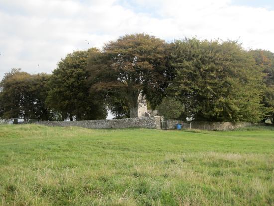 County Meath, Irlanda: 35G Hill of Tara entrance to churchyard