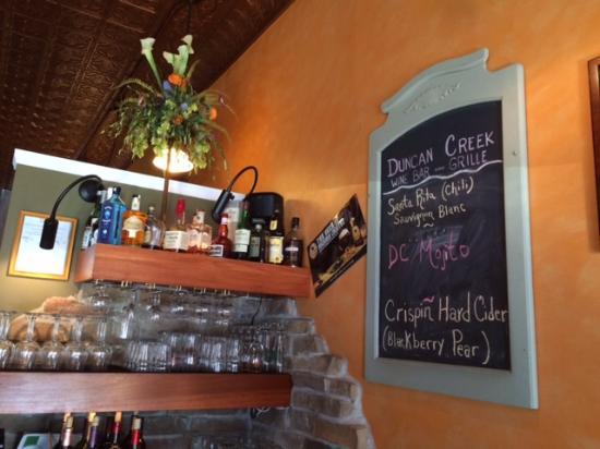 Duncan Creek Wine Bar: Bar Area