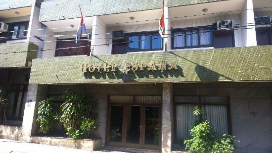 Hotel Espana: Fachada do Hotel