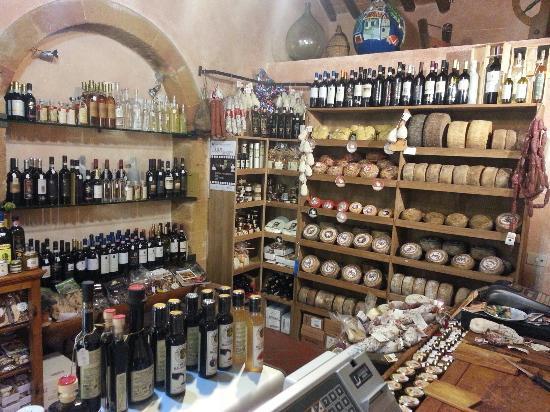 Pienza, Italy: La Taverna Del Pecorino