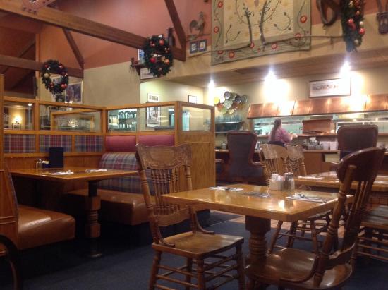The Farmhouse Restaurant Interior