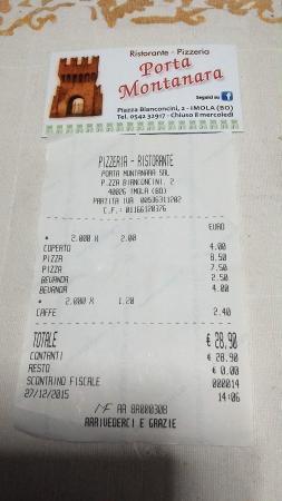 Conto foto di ristorante pizzeria porta montanara imola - Porta montanara imola ...