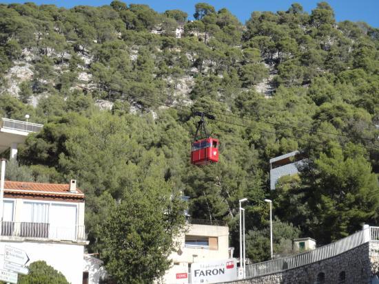 Telepherique du Mont Faron: Кабинка