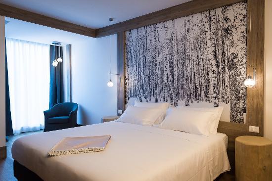 РиваВальдобия, Италия: Mirtillo Rosso - Room