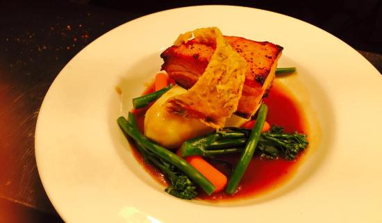 Chef and Manager: Pork belly