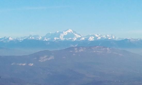 Chatillon-en-Michaille, فرنسا: Mont Blanc