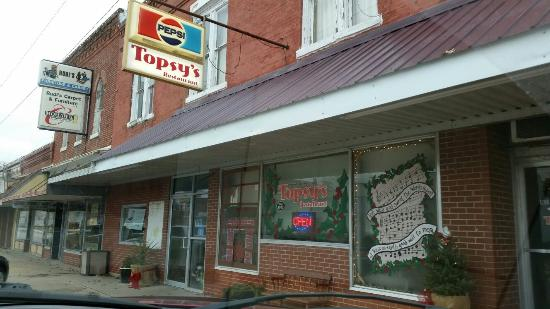 Concordia, MO: Topsy's Cafe