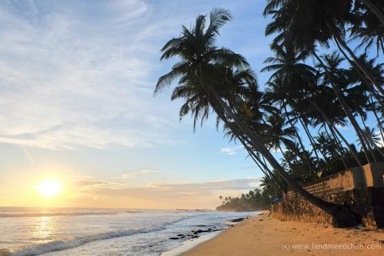 Apa Villa Thalpe: The beach at the hotel
