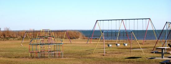 Alpena, MI: Playground equipment was there when I was a kid!  Still works fine