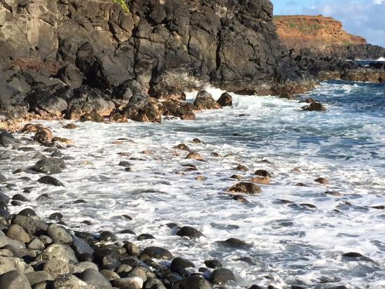 Haiku, Hawaje: Down on the beach