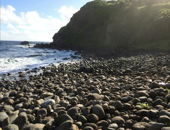 Haiku, Hawaje: On the beach