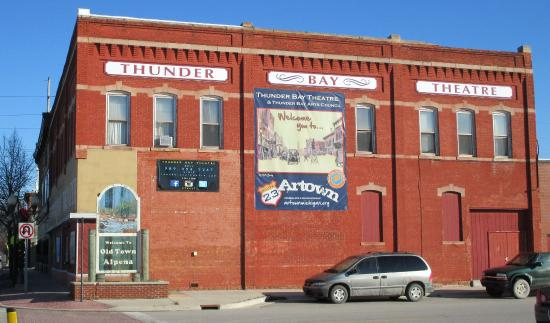 Thunder Bay Theater in Old Town Alpena, MI