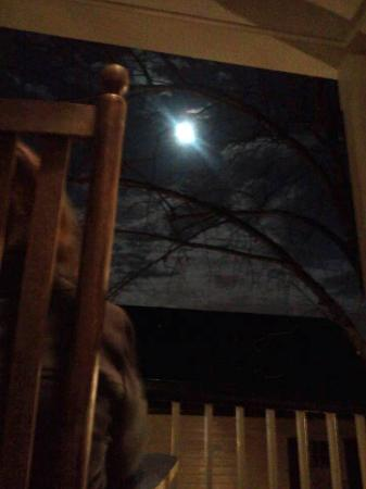 Augustus T. Zevely Inn: Christmas Full Moon; Third Floor Veranda