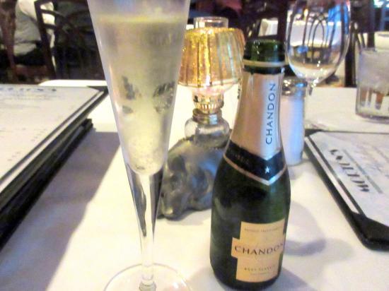 Morton's The Steakhouse - Sacramento: Champagne, Mortons the Steakahouse, Sacramento, Ca