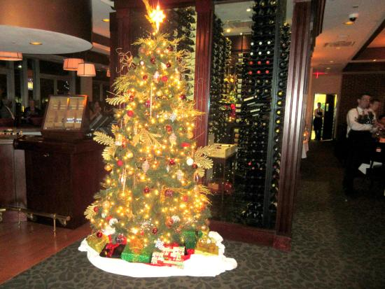 mortons the steakhouse christmas tree mortons the steakhouse sacramento ca