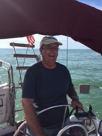 Anna Maria Sailing Adventures: Steering vessel