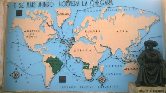 portugal dos pequeninos mapa Mapa Mundo dos Descobrimentos   Picture of Portugal dos Pequenitos  portugal dos pequeninos mapa