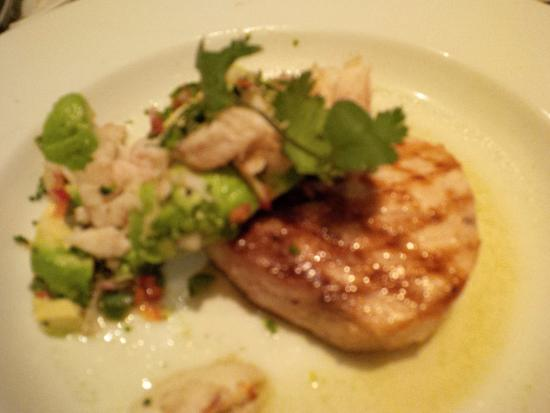 Swordfish steak with lump crab picture of wildfish for Wild fish scottsdale az