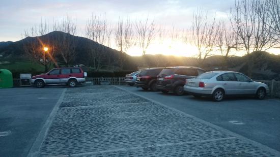 Mutriku, Spanje: parking