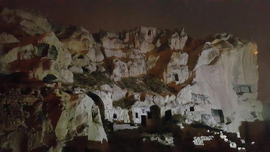 Has Cave Konak Hotel: Has Cave Konak terad manzaraları