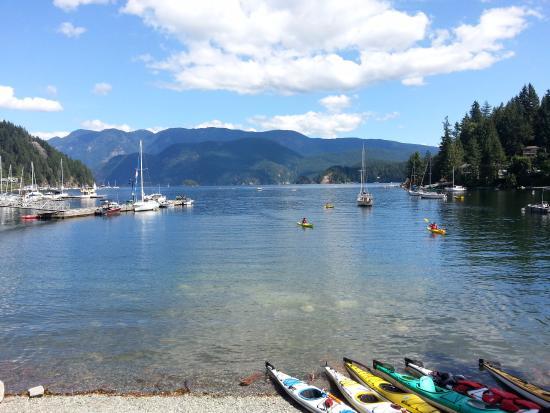 North Vancouver, Canadá: Vista Kayaks