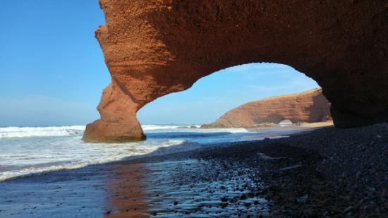Picture Of Legzira Beach, Sidi