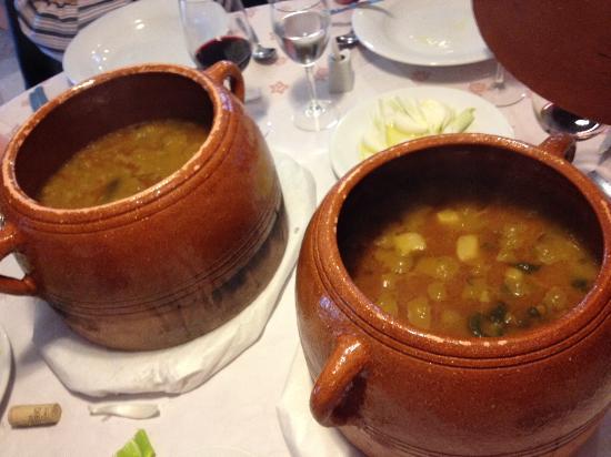 Picassent, Spania: Arroz con alubias, nabos y pato.