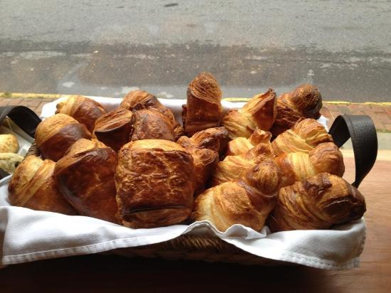 Duo Bistro: House made Croissants