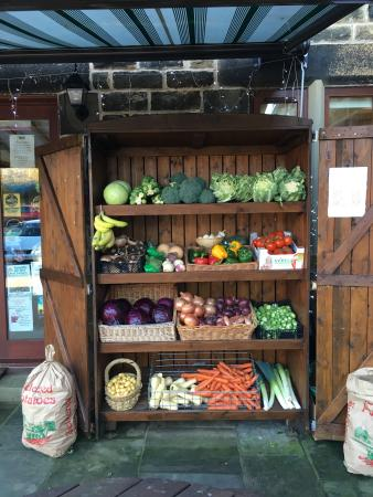 The Schoolrooms: Fresh fruit and vegetables