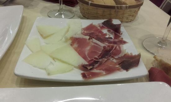 Restaurante Rias Baixas : aperitivo