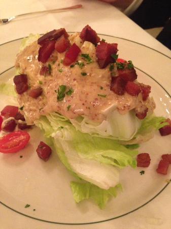 Galatoire's Restaurant: iceberg wedge salad