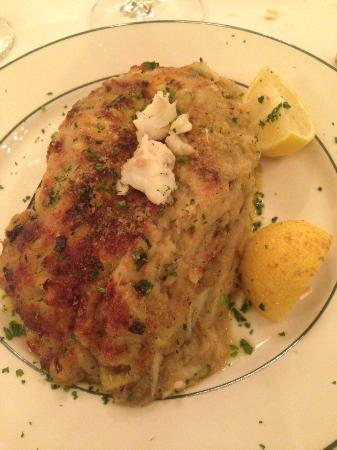 Galatoire's Restaurant: stuffed eggplant