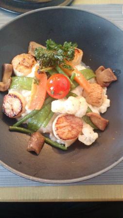 Le Signal : scallop risotto