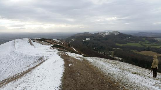 Colwall, UK: Malvern hills