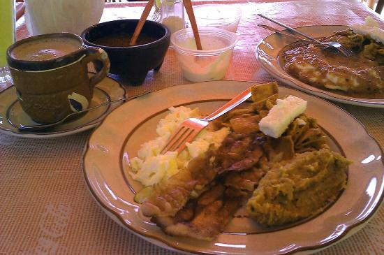 San Juan Cosala, Mexico: Sample breakfast plate