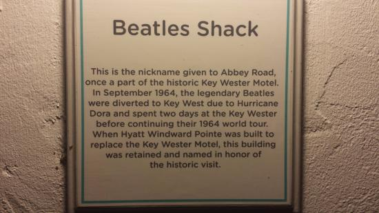 Hyatt Windward Pointe: abbey road snack bar