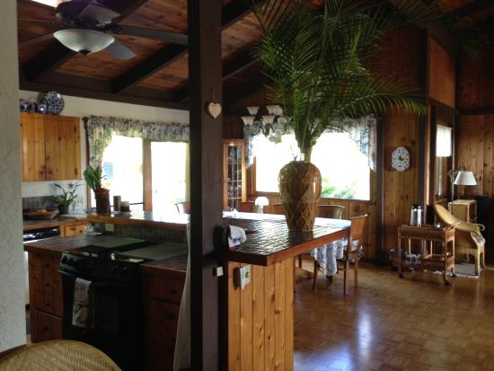 Areca Palms Estate Bed and Breakfast: Kitchen/Dining Room