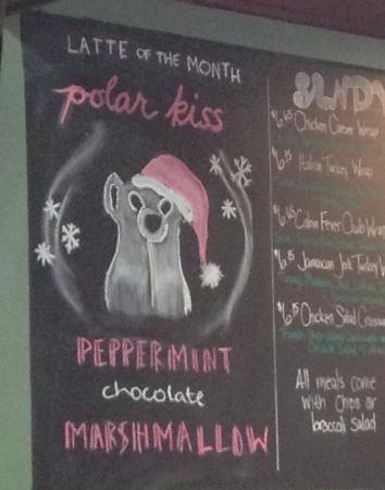 Cabin Fever: Loved December's Polar Kiss Latte