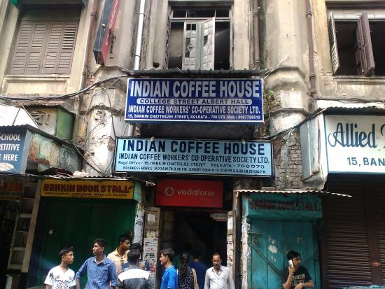 Menu choices - Picture of Indian Coffee House, Kolkata ...