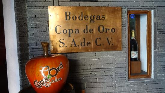 Copa de Oro - Museo La Barrica