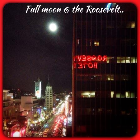 The Hollywood Roosevelt: View from the bedroom