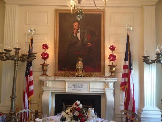 Presidents Hall of Fame: Salle de réception