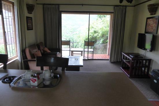 uKhahlamba-Drakensberg Park, Sudáfrica: nice spacious living area