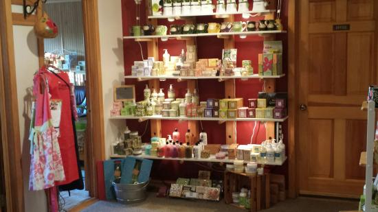 Swiss Woods: The soaps for sale are wonderful!
